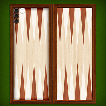Free online backgammon. Play with a friend