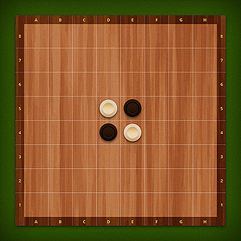 Free online reversi. Play with a friend
